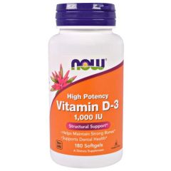 vitamine D3 1000iu NOW Foods