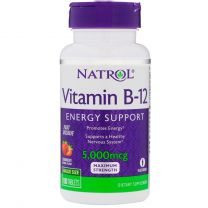 Natrol Vitamin B-12 5000 mcg Fast Dissolve