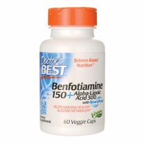 Doctors Best Benfotiamine 150 Alpha-Lipoic Acid 300