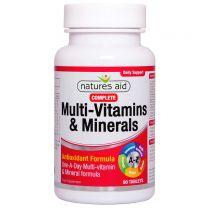 Natures Aid Complete Multi-Vitamins & Minerals