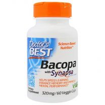 Doctors Best Bacopa with Synapsa