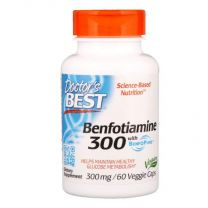Doctors Best Benfotiamine with BenfoPure 300 mg