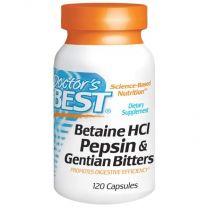 Doctors Best Betaine HCl Pepsin Gentian Bitters