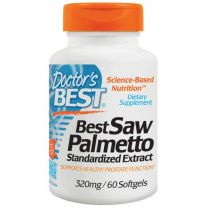 Doctors Best Saw Palmetto Standardized Extract - 320mg