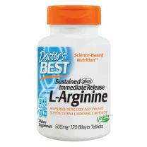 Doctors Best L-Arginine Sustained Plus Immediate Release