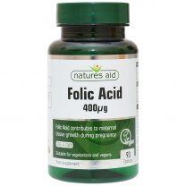 Natures Aid Folic Acid 400ug