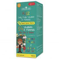 Natures Aid Kidz 6 Multi-Vitamin & Minerals Liquid