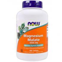 magnesium malaat 1000 mg 180 tabletten NOW
