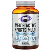 mens active sports multi now foods