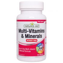Natures Aid Multi-Vitamins Minerals