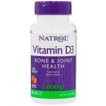 Natrol Vitamin D3 2000IU Fast Dissolve