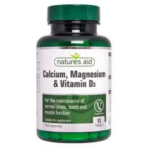 Natures Aid Calcium Magnesium Vitamin D3