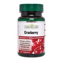 Natures Aid Cranberry 200mg