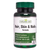 Natures Aid Hair Skin Nails Formula