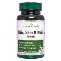 Natures Aid Hair Skin Nails Formula