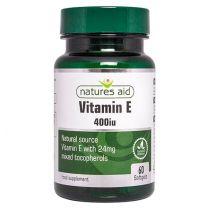 Natures Aid Vitamin E 400iu