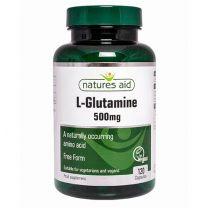 Natures Aid L-Glutamine 500mg