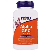 NOW Foods Alpha GPC 300mg