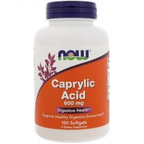 caprylzuur caprylic acid now foods