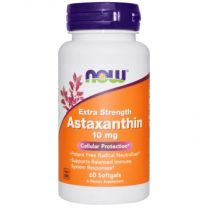 NOW Foods Astaxanthin Extra Strength 10mg