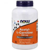 Acetyl- L-Carnitine 500 mg NOW Foods