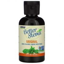NOW Foods BetterStevia Liquid Sweetener Original