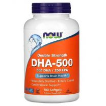 now DHA 500 180 softgels