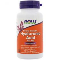 NOW Foods Hyaluronic Acid Double Strength 100mg