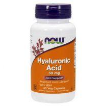 NOW Foods Hyaluronzuur 50 mg met MSM