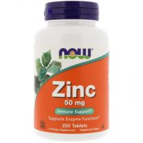 now zink gluconaat 50 mg 250 tabletten