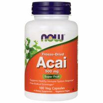 NOW Foods Freeze-Dried Acai 500 mg