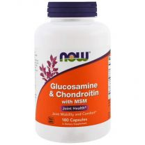 Glucosamine Chondroitine MSM now foods