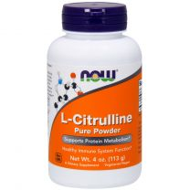 NOW Foods L-Citrulline 100 pure powder