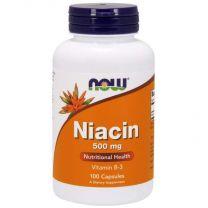 now niacine 500 mg vitamine b3