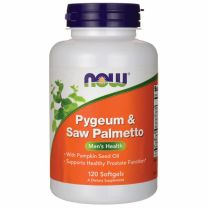 now pygeum saw palmetto