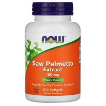 NOW Foods Saw Palmetto Extract 160mg