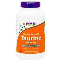 taurine 250 veg capsules now foods