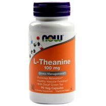 NOW Foods  L-Theanine 100mg