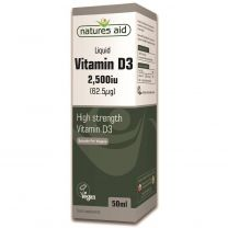 Natures Aid Vitamin D3 2500iu Liquid