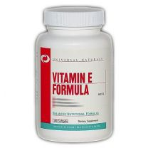 Universal Nutrition VITAMIN E FORMULA 400 ie